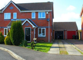 Thumbnail 2 bed semi-detached house for sale in Woodlands Court, Barlby, Selby