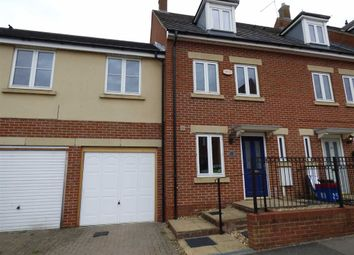 Thumbnail 3 bed town house for sale in Packwood Close, Daventry