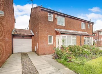 Thumbnail 3 bedroom semi-detached house for sale in Sandon Close, Backworth, Newcastle Upon Tyne