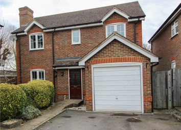 Thumbnail 4 bed detached house for sale in Arlott Close, Eversley, Hook