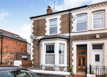 Thumbnail 3 bed end terrace house for sale in Redlaver Street, Cardiff