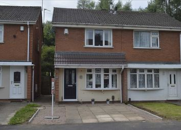 Thumbnail 2 bed semi-detached house for sale in Devon Road, County Bridge, Willenhall