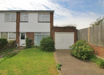 Thumbnail 3 bed end terrace house for sale in The Briars, Cheshunt, Herts