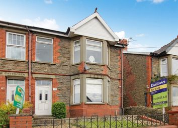 Thumbnail 3 bed semi-detached house for sale in 14, Tydfil Road, Bedwas, Caerphilly, Caerphilly