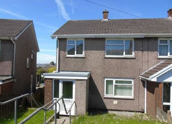 Thumbnail 3 bed end terrace house to rent in Caernarvon Way, Bonymaen
