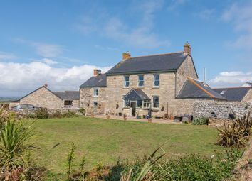 Thumbnail 4 bed farmhouse for sale in Mounts Bay Terrace, Rinsey, Ashton, Helston