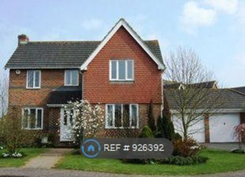 Thumbnail 4 bed detached house to rent in Hunt Close Hawkinge, Hawkinge Kent