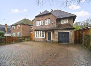 Thumbnail 4 bedroom detached house to rent in Brooklands Road, Weybridge, Surrey