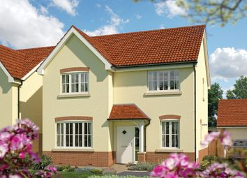 "Thumbnail 4 bed detached house for sale in ""The Aspen"" at Priory Fields, Wookey Hole Road, Wells, Somerset, Wells"