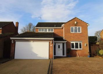 Thumbnail 4 bed detached house for sale in Paddock Close, Ravensthorpe, Northampton