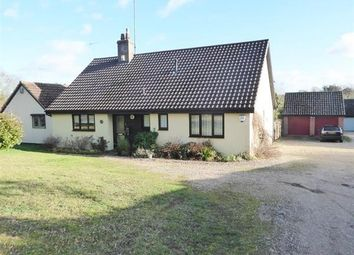Thumbnail 3 bed detached bungalow for sale in Rectory Meadow, Rattlesden, Bury St. Edmunds