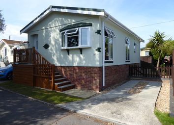 Thumbnail 2 bed mobile/park home for sale in Fishery Creek, St Hermans Estate, Hayling Island, Hampshire