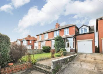 Thumbnail 4 bedroom semi-detached house for sale in Ruswarp Lane, Whitby