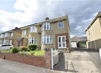Thumbnail 3 bed semi-detached house for sale in Hollyguest Road, Hanham