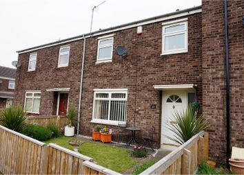 Thumbnail 3 bed terraced house for sale in St. Chads Close, Bishop Auckland