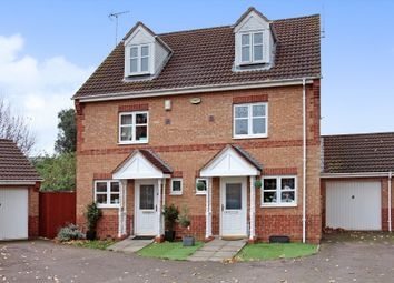 Thumbnail 3 bedroom semi-detached house for sale in Meadenvale, Peterborough