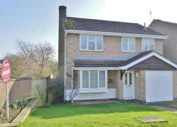 Thumbnail 4 bedroom detached house for sale in Bullfinch Close, Oakham