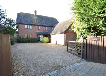 The Leas, Chestfield, Whitstable CT5. 4 bed detached house for sale