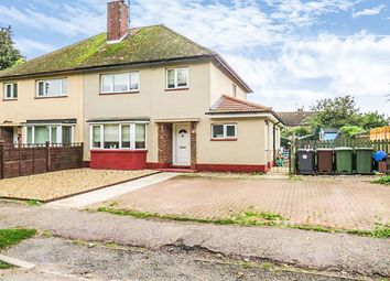 Thumbnail 3 bedroom semi-detached house for sale in East Crescent, Weldon, Corby