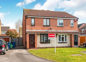 Thumbnail 3 bed semi-detached house for sale in Globe Avenue, Stafford