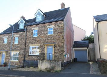 Thumbnail 4 bed semi-detached house for sale in Snowdrop Crescent, Launceston