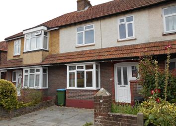 Thumbnail 3 bed terraced house to rent in Bedford Avenue, Bognor Regis, West Sussex PO215Aw