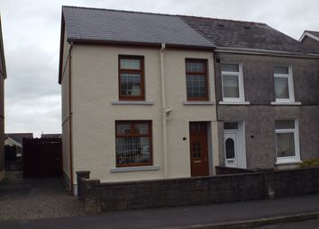 Thumbnail 2 bed semi-detached house for sale in Bryncwar Road, Penygroes, Llanelli