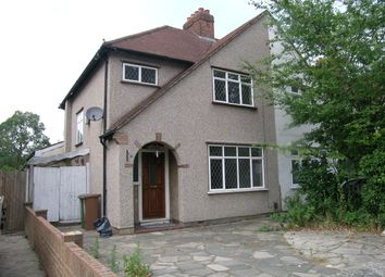 Thumbnail 3 bed semi-detached house to rent in Caldbeck Avenue, Worcester Park