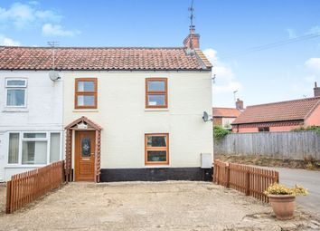 Thumbnail 2 bed end terrace house for sale in Swanton Abbott, Norwich, Norfolk