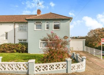 Thumbnail 3 bedroom end terrace house for sale in Thorndike Road, Southampton