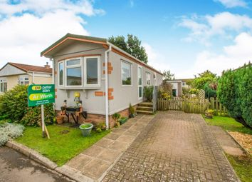 Thumbnail 2 bed mobile/park home for sale in Lighthouse Park, St. Brides Wentlooge, Newport
