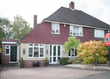 Thumbnail 3 bed semi-detached house for sale in Dower Road, Four Oaks, Sutton Coldfield