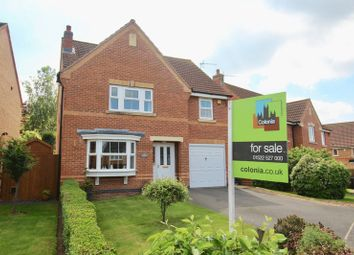 Thumbnail 4 bed detached house for sale in Berilldon Drive, St. Georges Park, Lincoln