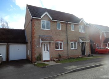 Thumbnail 2 bedroom semi-detached house to rent in Harebell Drive, Thatcham