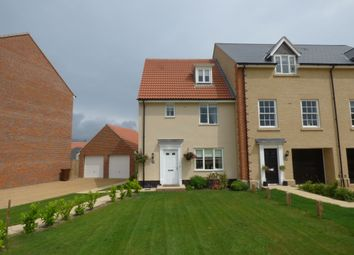 Thumbnail 3 bed end terrace house to rent in East Close, Bury St. Edmunds