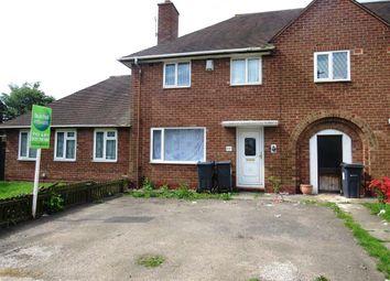 Thumbnail 3 bedroom semi-detached house to rent in Heath Way, Hodge Hill, Birmingham