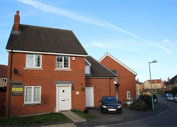 Thumbnail 4 bedroom link-detached house for sale in Chaffinch Way, Stowmarket
