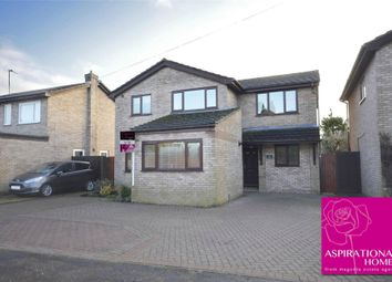 Thumbnail 4 bed detached house to rent in Meadow Close, Ringstead, Northamptonshire
