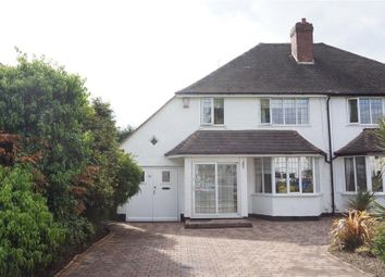 Thumbnail 3 bed semi-detached house for sale in The Boulevard, Wylde Green, Sutton Coldfield