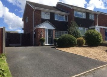 Thumbnail 3 bed semi-detached house for sale in Bramble Wood, Broseley