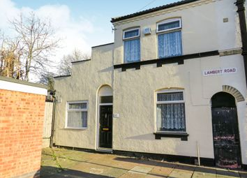 Thumbnail 2 bedroom end terrace house for sale in Lambert Road, Leicester