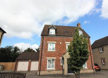 Thumbnail 5 bedroom detached house for sale in Pathfinder Way, Swindon