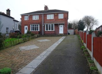 Thumbnail 3 bed semi-detached house to rent in Hall Lane, Chapelthorpe, Wakefield