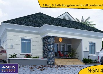 Thumbnail 3 bed bungalow for sale in Amen Estate Phase 2, Eleko Beach Road, Ajah, Ibeju Lekki, Lagos