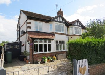 Thumbnail 3 bed semi-detached house for sale in Park Drive South, Hoole, Chester