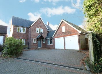 Thumbnail 4 bed detached house for sale in Tythe Barn Lane, Dickens Heath, Shirley, Solihull