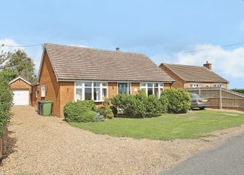 Thumbnail 3 bed detached bungalow for sale in Willingham Road, Over, Cambridge