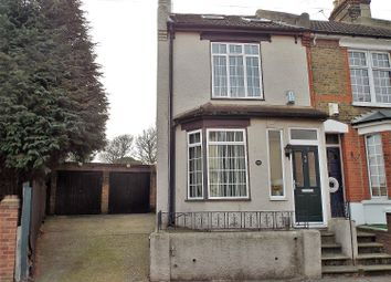 Thumbnail 4 bed end terrace house for sale in Cecil Road, Rochester