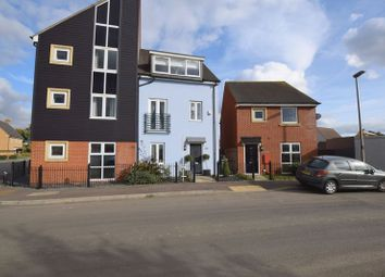Thumbnail 4 bed semi-detached house for sale in Cranmore Circle, Broughton, Milton Keynes