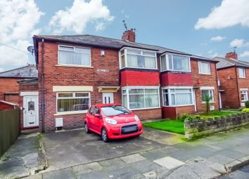 Thumbnail 2 bed flat for sale in Langley Road, North Shields